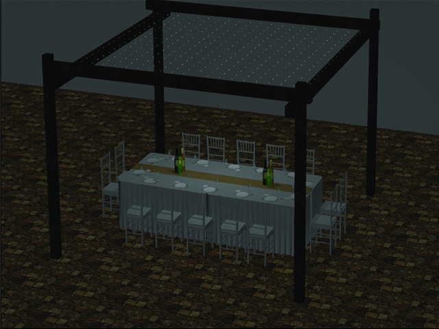 CAD Example - Wedding Dinner