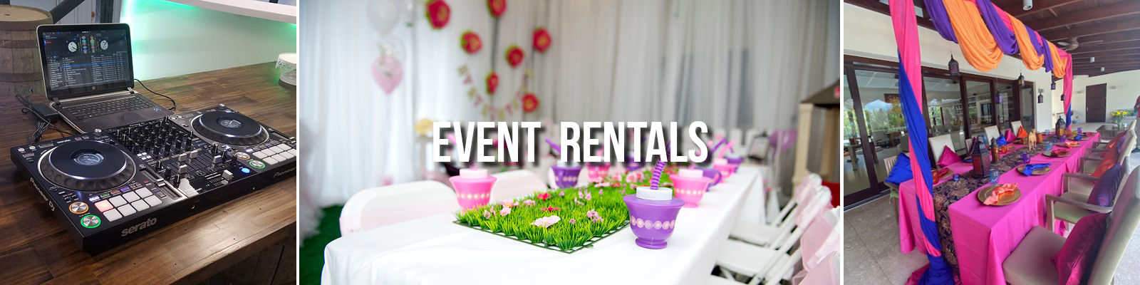 Where to rent event equipment in Grand Cayman