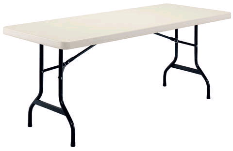 Where to find 6ft. Plastic Mold Folding Table in Grand Cayman