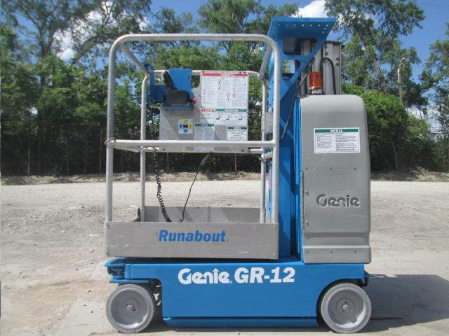 GR 12 SINGLE MANLIFT MOBILE Rentals Grand Cayman KY, Where to Rent