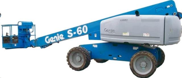 Where to find 60FT GENIE BOOM LIFT  Gas in Grand Cayman