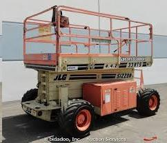 Where to find 33FT RTS SCISSOR LIFT in Grand Cayman
