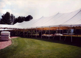 Where to find Traditional Frame Tent - 40  x 160 in Grand Cayman