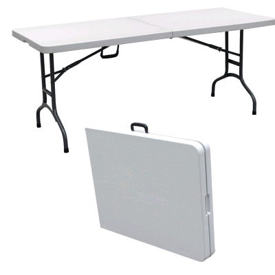 Where to find 6ft Banquet Folding Table - Plastic in Grand Cayman