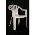 Rental store for Chair - Plastic Patio  White in Grand Cayman KY