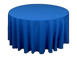 Where to find Tablecloth 120  RND - Royal Blue Poly in Grand Cayman