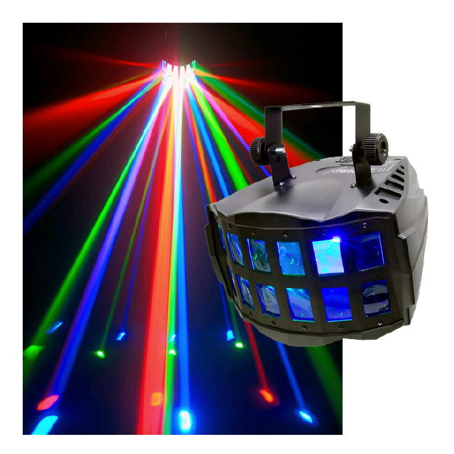 Where to find LIGHT - CHAUVET DOUBLE DERBY in Grand Cayman