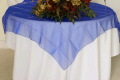 Rental store for 90  RND Overlay - Royal Blue Organza in Grand Cayman KY