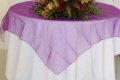 Rental store for Overlay 90  RND - Purple Organza in Grand Cayman KY