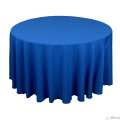 Rental store for Tablecloth 132  RND - Royal Blue Satin in Grand Cayman KY