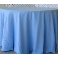 Rental store for 132  RND Tablecloth - Light Blue Satin in Grand Cayman KY