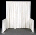 Rental store for Drape Banjo White 8 H x 4 in Grand Cayman KY