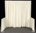 Rental store for Drape Banjo White 3 H x 4 in Grand Cayman KY