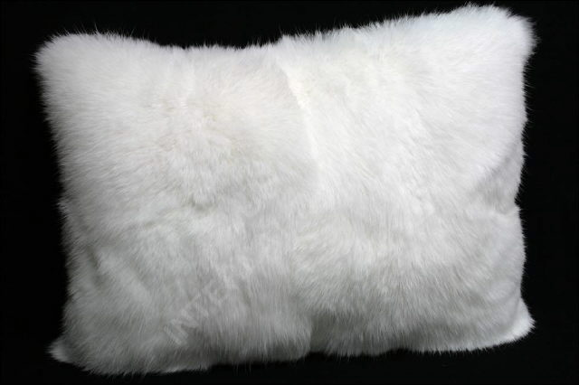Where to find Pillow Cushion Cover - Animal Fur White in Grand Cayman