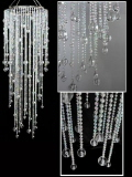Rental store for Chandelier Acrylic  Long Bead 13 X40 in Grand Cayman KY