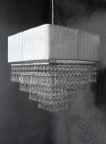 Rental store for Chandelier Acrylic White Sq Lamp in Grand Cayman KY