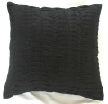 Rental store for Pillow Cushion Cover - Black Pintuck in Grand Cayman KY