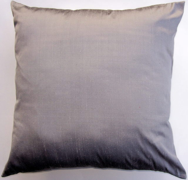 Where to find Pillow Cushion Cover - Silver Satin in Grand Cayman