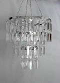 Rental store for Chandelier Acrylic Clear Crystal in Grand Cayman KY