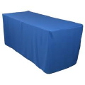 Rental store for Tablecloth 90 x132  - Royal Blue Poly in Grand Cayman KY