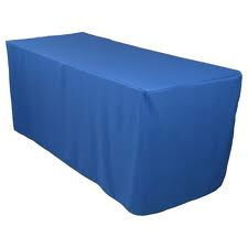 Where to find Tablecloth 90 x156  - Royal Blue Poly in Grand Cayman