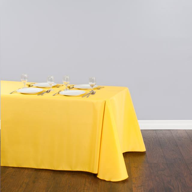 Where to find Tablecloth 90 x156  - Yellow Polyester in Grand Cayman