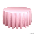 Rental store for Tablecloth 132  RND - Light Pink Satin in Grand Cayman KY