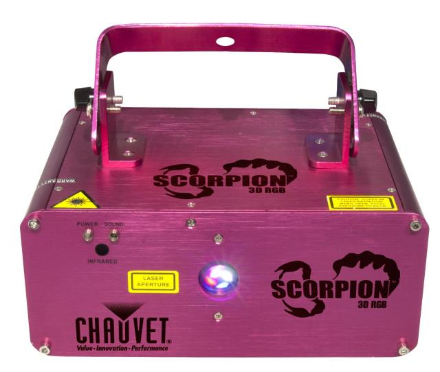 Where to find LASER CHAUVET SCORPION 3D RGB in Grand Cayman