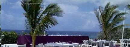Where to find Tablecloth 90 x156  - Plum Polyester in Grand Cayman