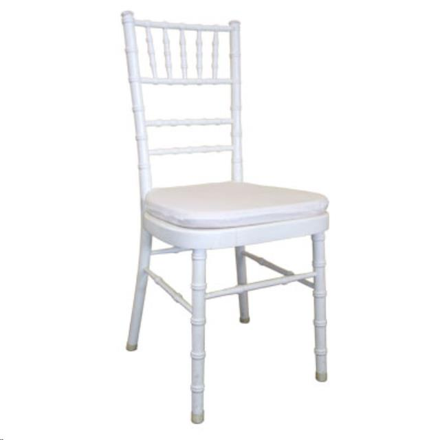 Where to find Chiavari Chair - White Resin in Grand Cayman
