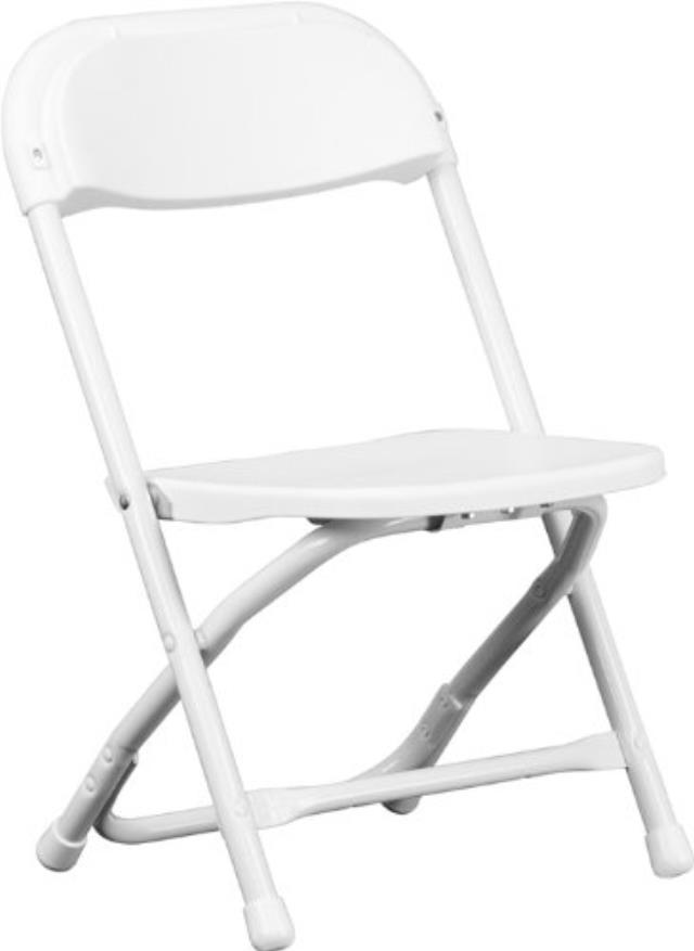 Where to find Kids Plastic Folding Chair - White in Grand Cayman