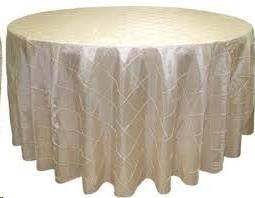 Where to find Tablecloth 132  RND - Ivory Pintuck in Grand Cayman