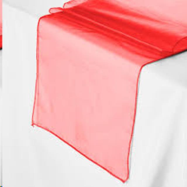 Where to find Runner 108 x12  - Red Organza in Grand Cayman