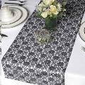 Rental store for Table Runner Lace Black 8ft in Grand Cayman KY