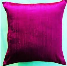 Where to find Pillow Cushion Cover - Magenta Satin in Grand Cayman