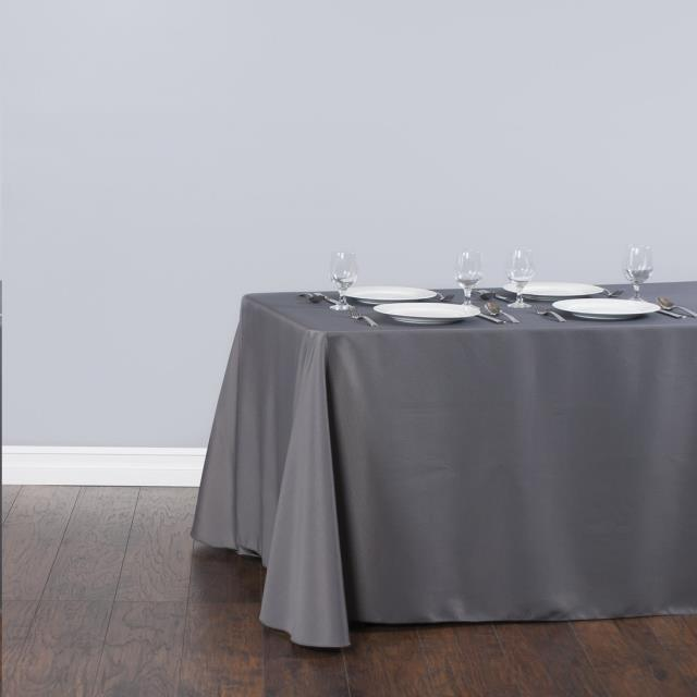 Where to find Tablecloth 90 x156  - Charcoal Polyester in Grand Cayman
