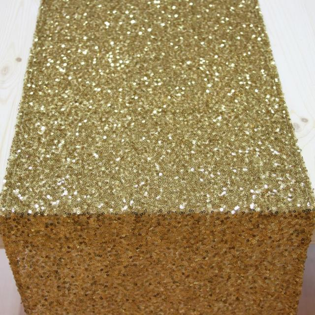 Where to find Runner 114 x12  - Sequin gold in Grand Cayman