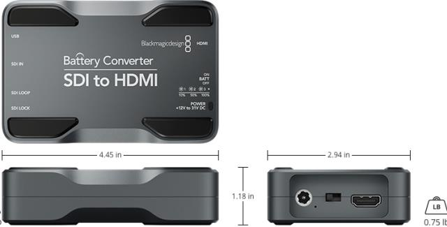 Where to find BLACKMAGIC SDI TO HDMI CONVERTER in Grand Cayman