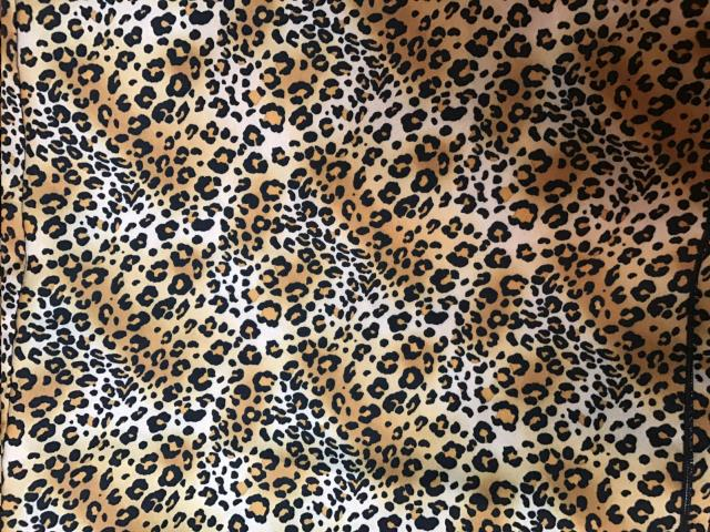 Where to find Overlay 90 x90  Sq. - leopard Print Poly in Grand Cayman