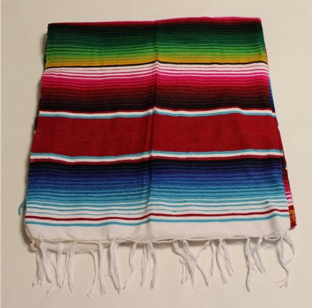 Where to find 88  X 57  Mexican Blanket- Stripe in Grand Cayman