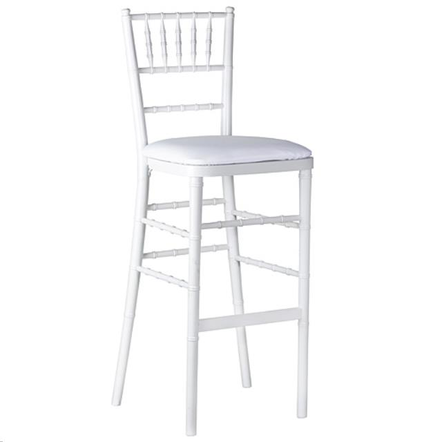 Where to find Chiavari Wood Stool - White in Grand Cayman