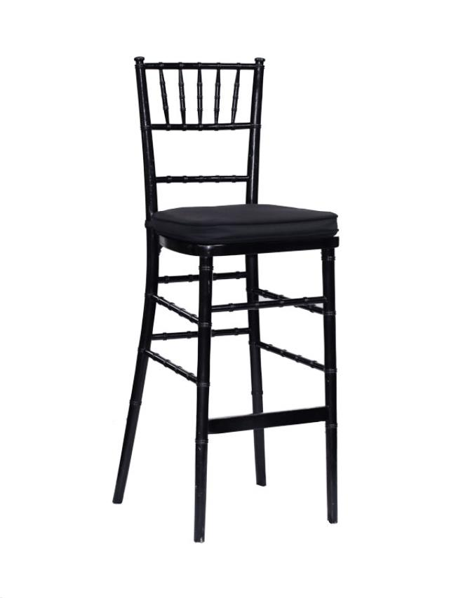 Where to find Chiavari Wood Stool - Black in Grand Cayman
