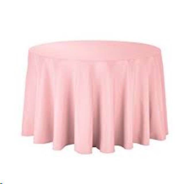 Where to find Tablecloth 120  RND - Light Pink Poly in Grand Cayman