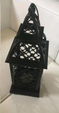 Rental store for Lantern -Medium Lattice Lantern  Black in Grand Cayman KY