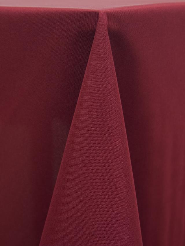 Where to find Tablecloth 136  RND - Burgundy Polyester in Grand Cayman