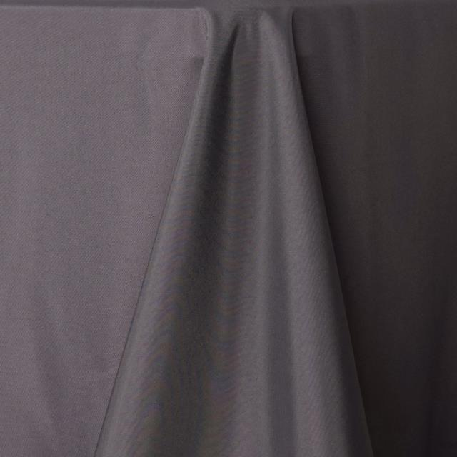 Where to find Tablecloth 136  RND - Charcoal Polyester in Grand Cayman