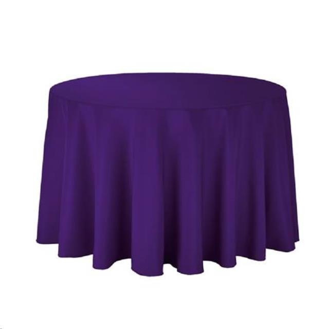 Where to find Tablecloth 132  RND - Dark Plum in Grand Cayman