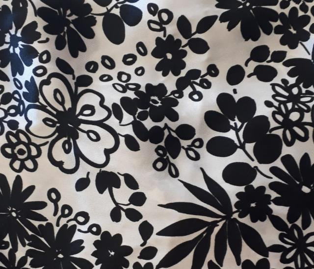 Where to find Pillow Cushion Cover -Wht Blk Flower Des in Grand Cayman