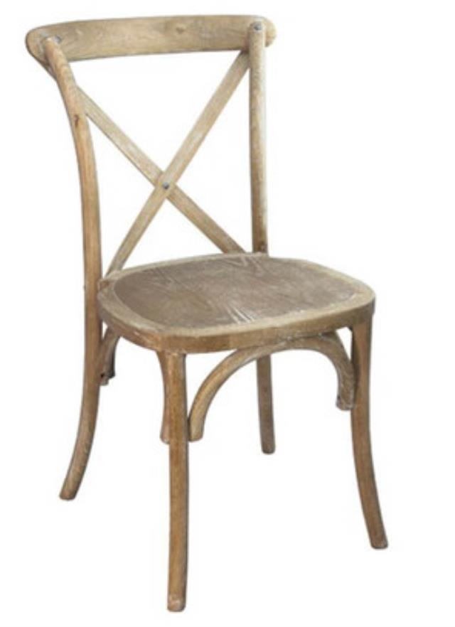 Where to find Chair - Drifting Antique Cross Back in Grand Cayman