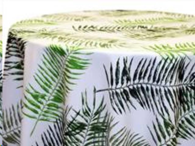 Where to find Tablecloth 132  RND - Tropical Leaf Pat in Grand Cayman